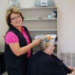 Forty-two years is a long time to be a hair stylist, but that is how long Jolene Hosier in Alamo has been one.