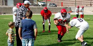 Area football teams prepare for first scrimmage