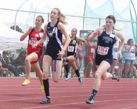 Local athletes compete at state track meet