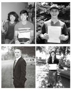 Courtesy photos Utah Ray, shown with mom Yoko (top left) and Caleb Hansen (top right), along with Wade Leavitt (bottom left) and Sariah Baine (bottom right) all received calls to serve missions in different parts of the world for The Church of Jesus Christ of Latter-day Saints.