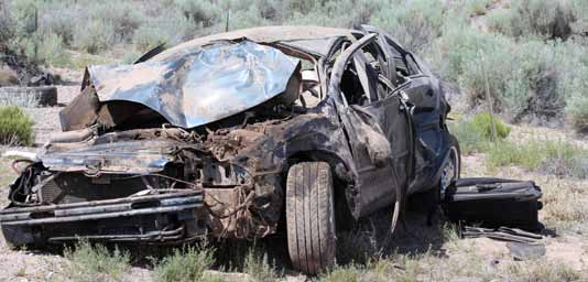 Vegas man killed north of Hiko