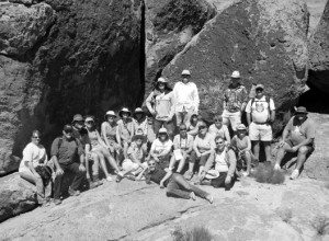 Courtesy photo Educators from Nevada and Arizonatook part in the Great Basin Teachers Workshop at Cathedral Gorge State Park in late July.