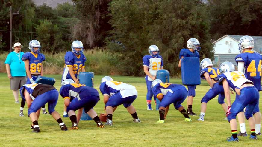 Depth not an issue for PVHS football team