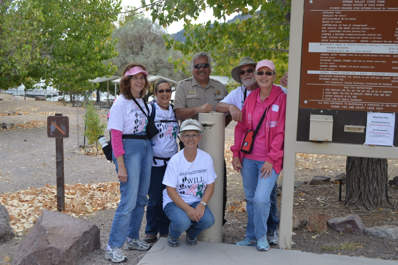 Eagle Valley Resort fights cancer with annual walk