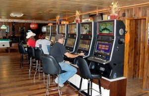 Dave Maxwell Eagle Valley Resort has installed six new slot machines in the bar area.  Also, four new cabins were opened this summer. The casino, lounge area, is open 8 a.m. to 10 p.m.