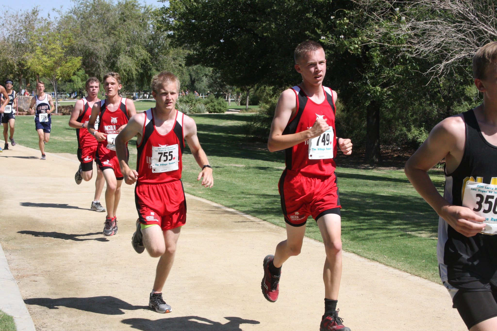 Lincoln cross country team takes 8th in Boulder City