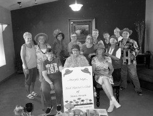 Courtesy photo The Purple Sage Red Hatter's club originally formed in 2005, and now has 15 members.