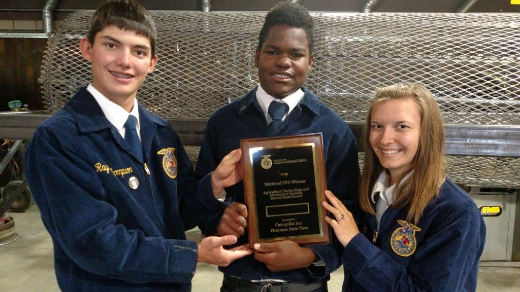 Local FFA chapter competes at nationals