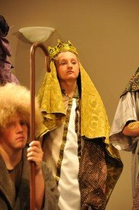 Janine Woodworth LCHS theatre students performed its Christmas play from Nov. 30 through Dec. 2.