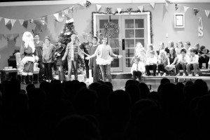 Sarah Somers Panaca Elementary students perform during the school's annual Christmas program at the Neldon C. Mathews Center.