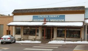 Dave Maxwell The Lincoln County Museum in Pioche received a hand delivered donation of $10,000 from Gene Burns of Las Vegas as a Christmas gift. Curator Leslie Childers said she plans to use the donation to repair the roof at the back of the museum.