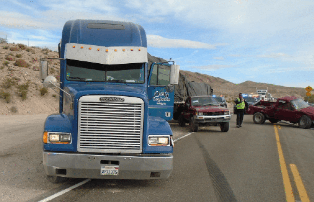 Accident snarls traffic on U S  93 | Lincoln County Record