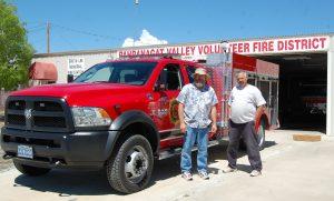 Alamo Fire Truck