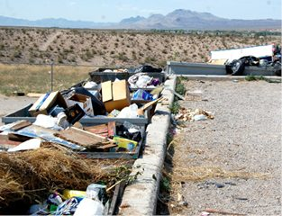 Trash buildup creating concerns across county