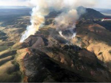 Smoke From Nearby Wildfires Continue to Blanket Area