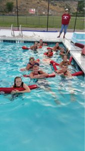 """Rose Lanigan Mayor Stana Hurlburt said """"it was a great year, maybe the best ever, this year at the Caliente Swimming Pool."""""""