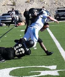 Panthers Double-up Golden Eagles, 36-18