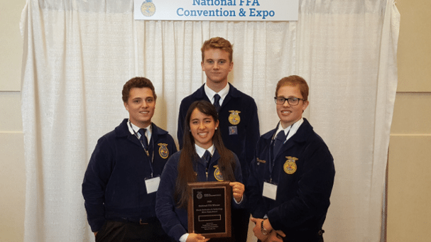 Pahranagat Valley FFA Chapter Attends National Convention