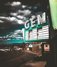 Pioche, Nevada - taken by Dale Smith, a participant in the inaugural Fall Photo Festival.