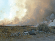 Pahranagat Wildlife Refuge Conducts Controlled Burn