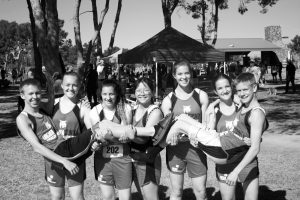 Shawn Frehner - Lincoln County High School cross country athletes at the state finals last weekend in North Las Vegas.
