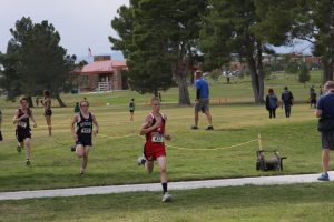 Cody Dirk's will compete individually in the 1A-2A cross country state championship tomorrow in North Las Vegas.