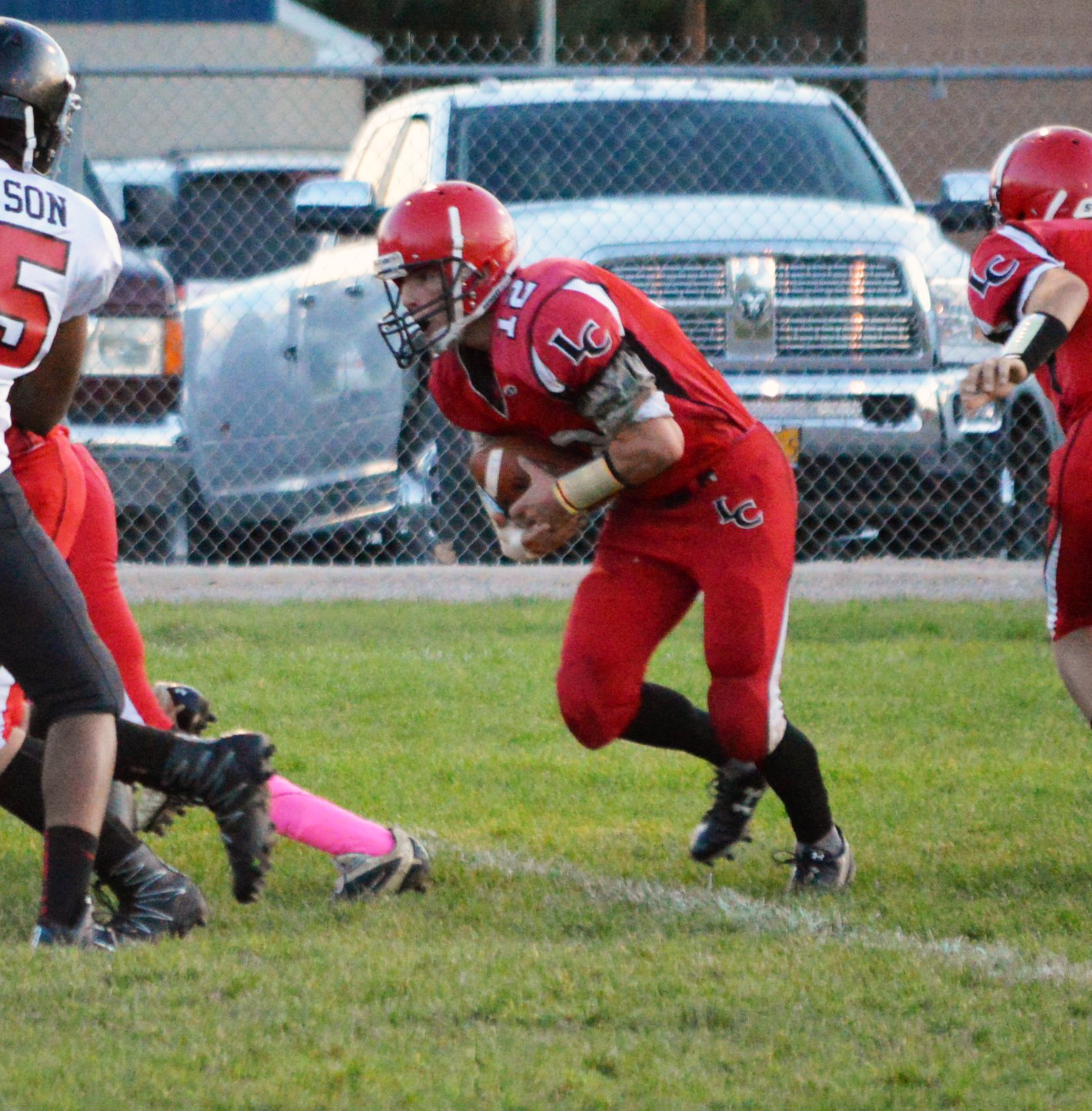 Lincoln Topples Mountain View