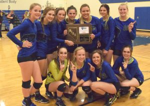 Dave Maxwell: Pahranagat Valley 2016 1A Southern Division Volleyball Champions.