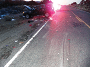 SR 320 Rollover Accident Claims Life of Pioche woman