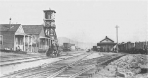 Mound House Station - Junction of the V&T and the C&C
