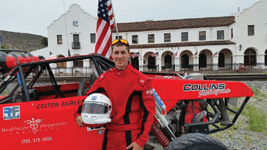 Young Lincoln County Man Balances Career While Racing