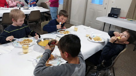 Church Hosts Pancake Dinner