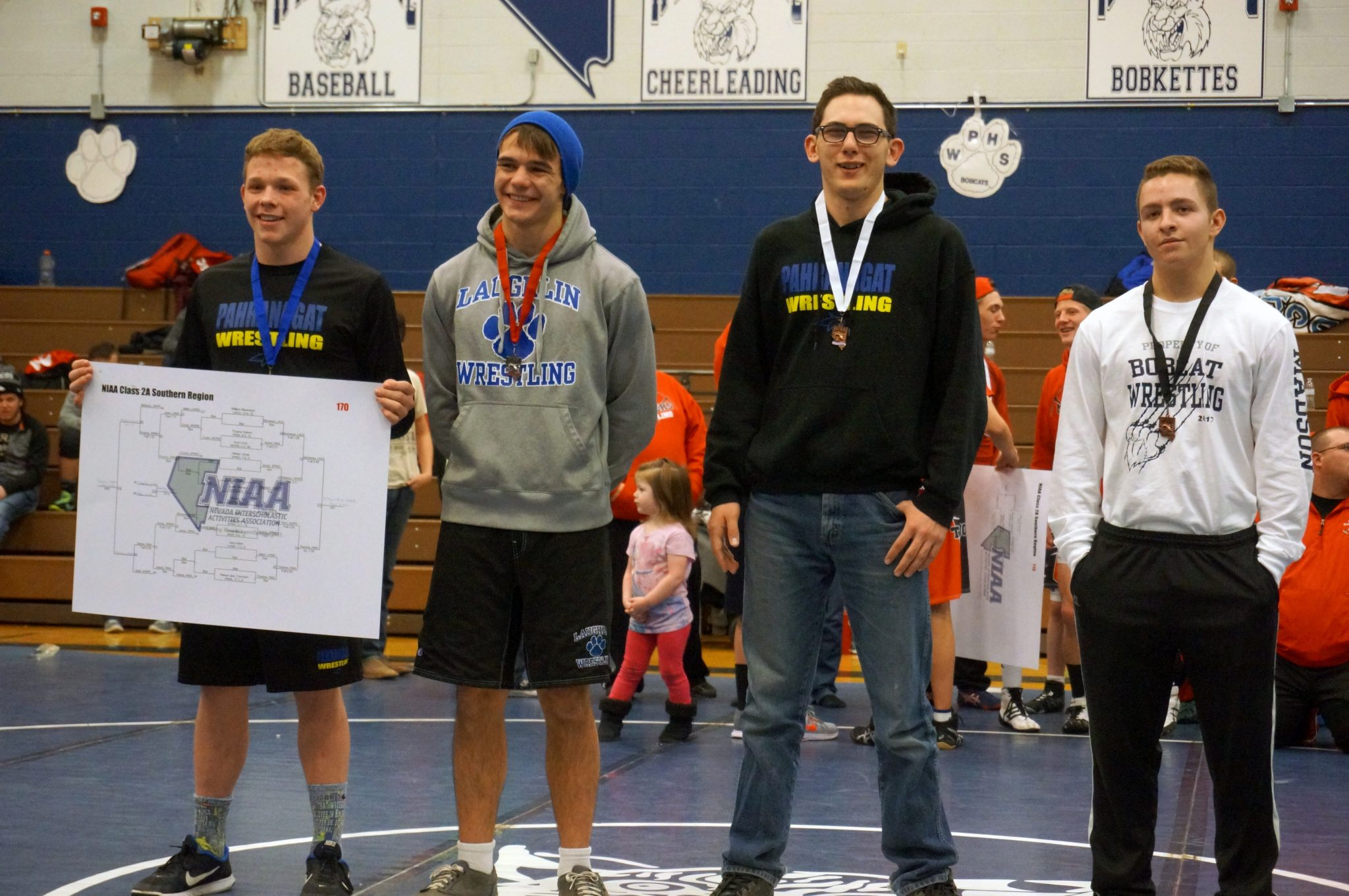 Eight Panther wrestlers to state