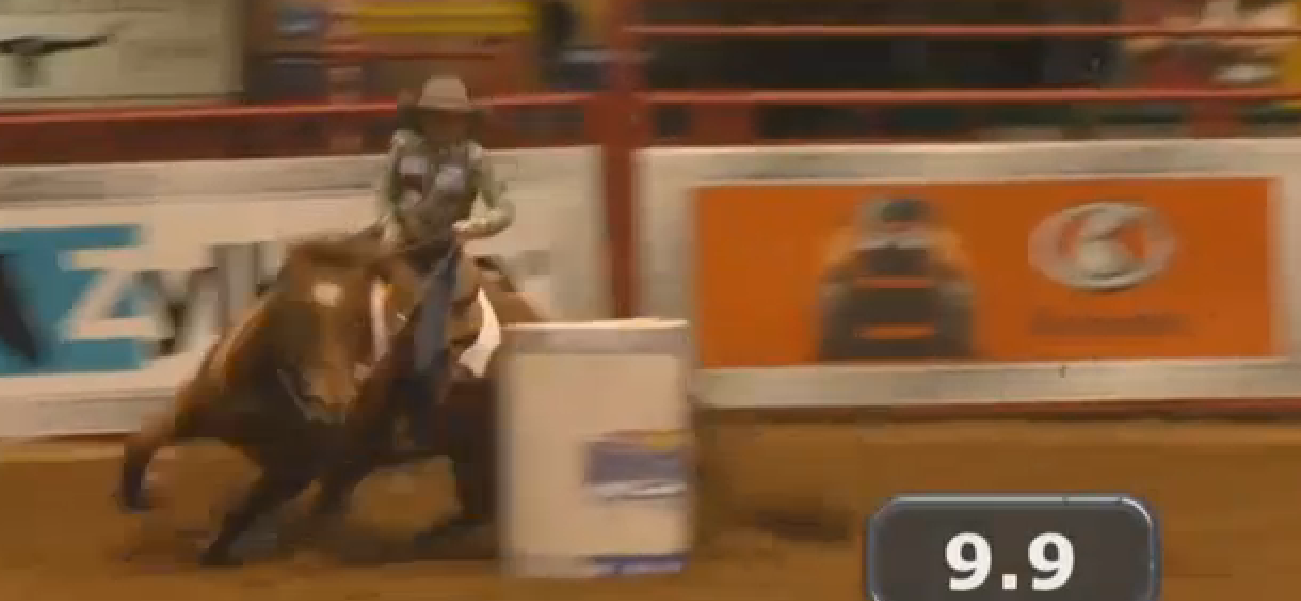 Wylee Mitchell places in top 10 at national rodeo