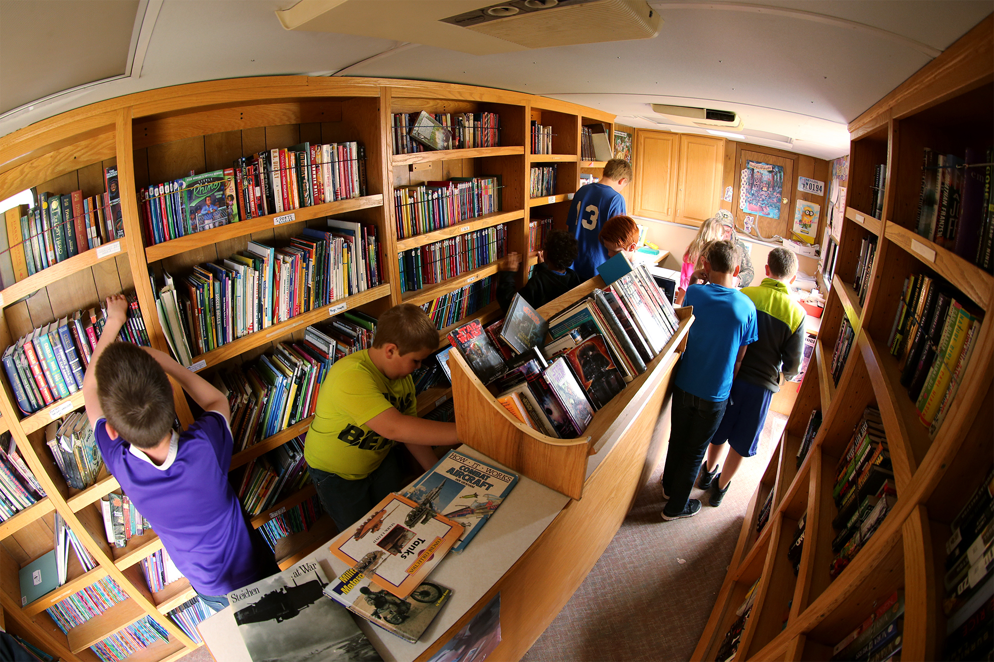 Bookmobiles on federal chopping block