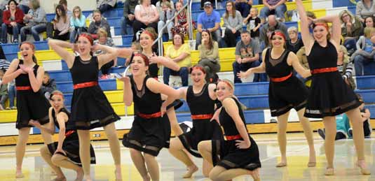 Dancers excel at competition