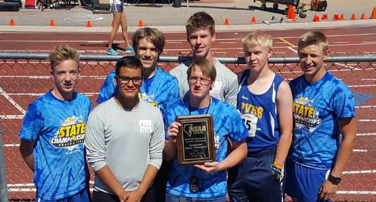 Panther boys track wins academic state award