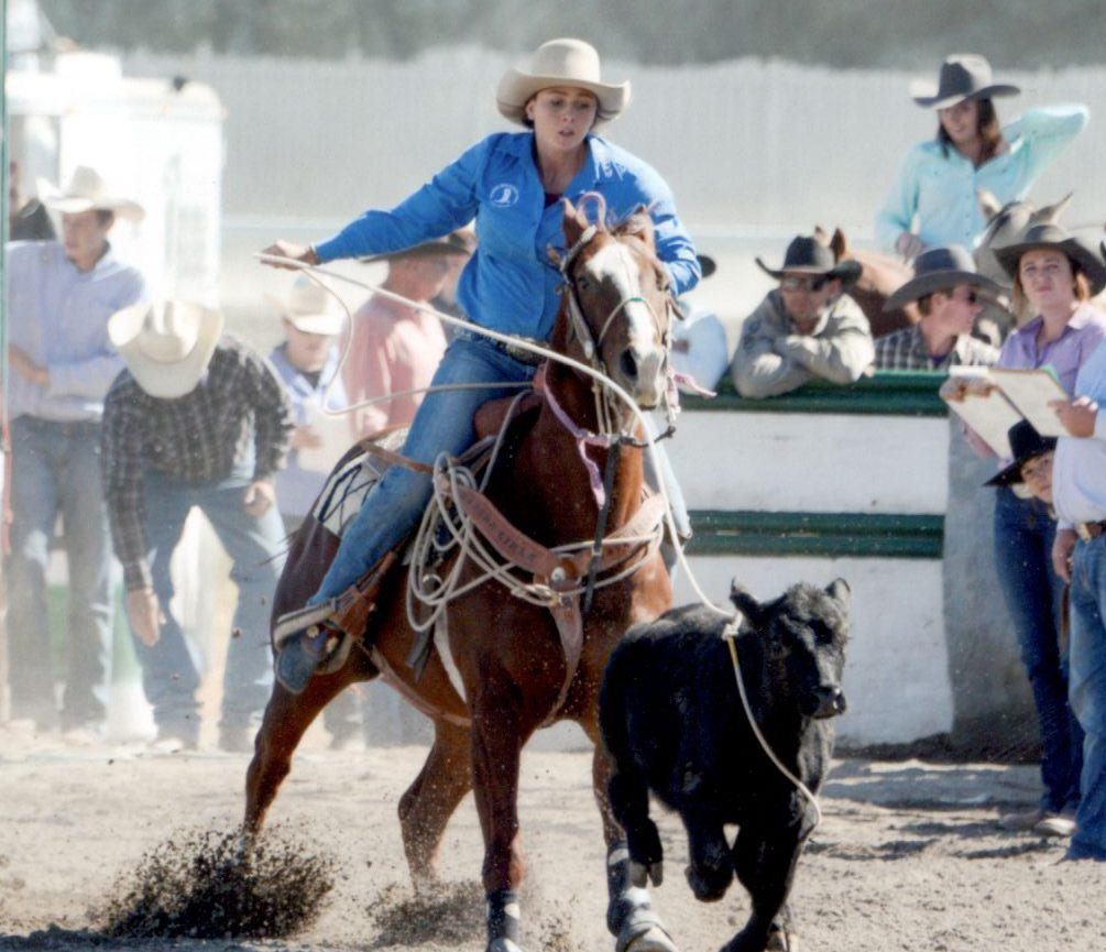 Summer a busy time for local rodeo competitor Lacey Steele