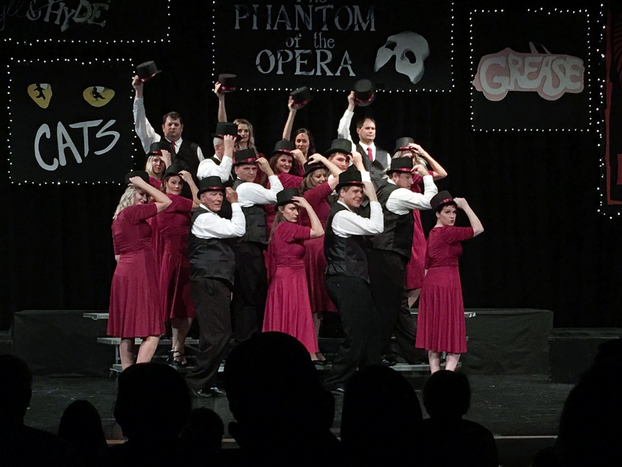 Little Off Broadway Troupe Performs