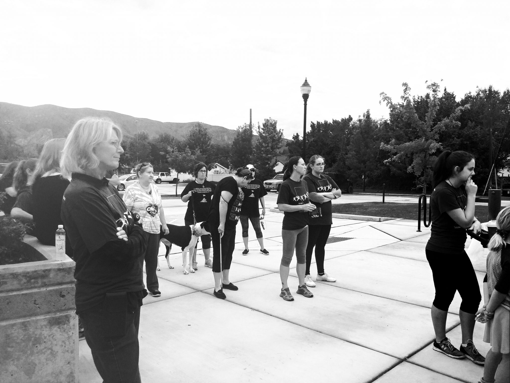 Residents Walk for Suicide Prevention