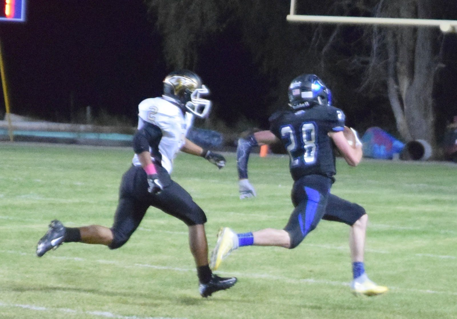 Up Tempo Panthers Roll Past Spring Mountain