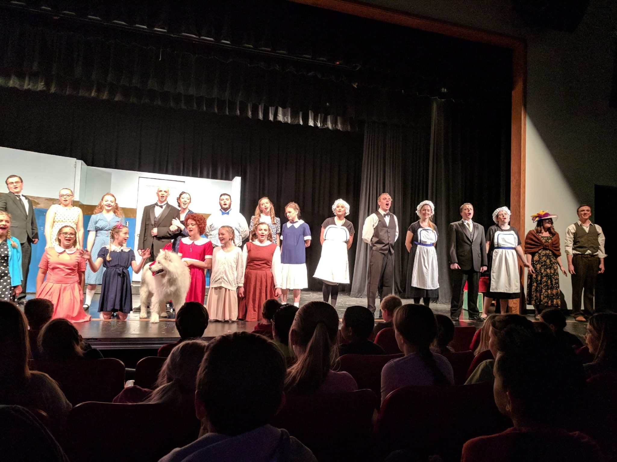 'Annie' Being Performed by High School Drama Department