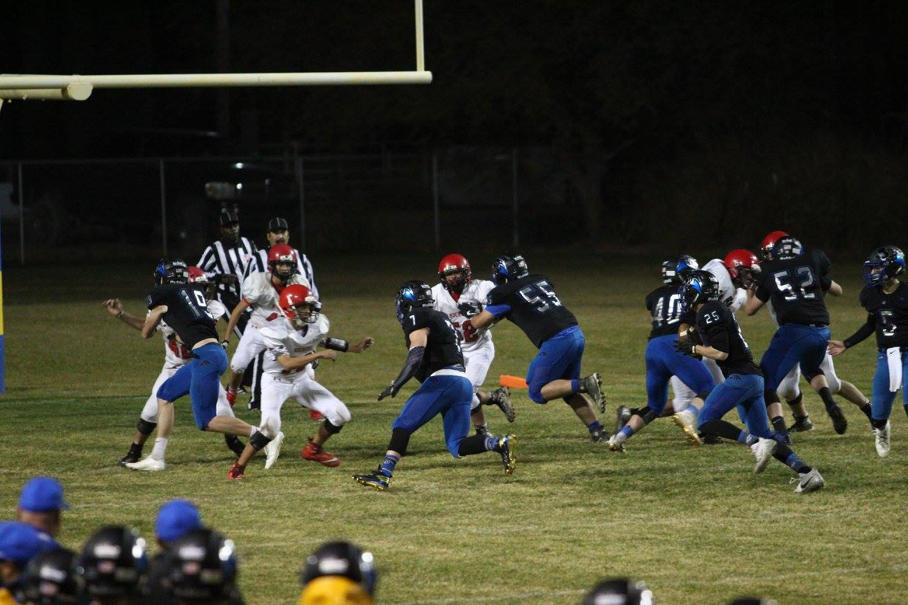 Panthers Route Tonopah in First Round