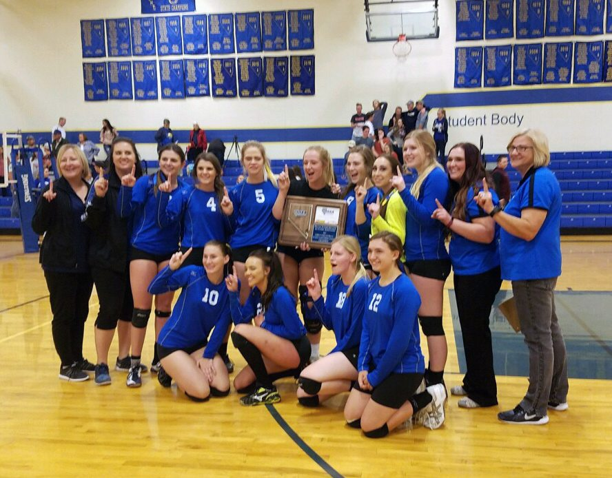 Pahranagat Volleyball Wins Regional Tournament