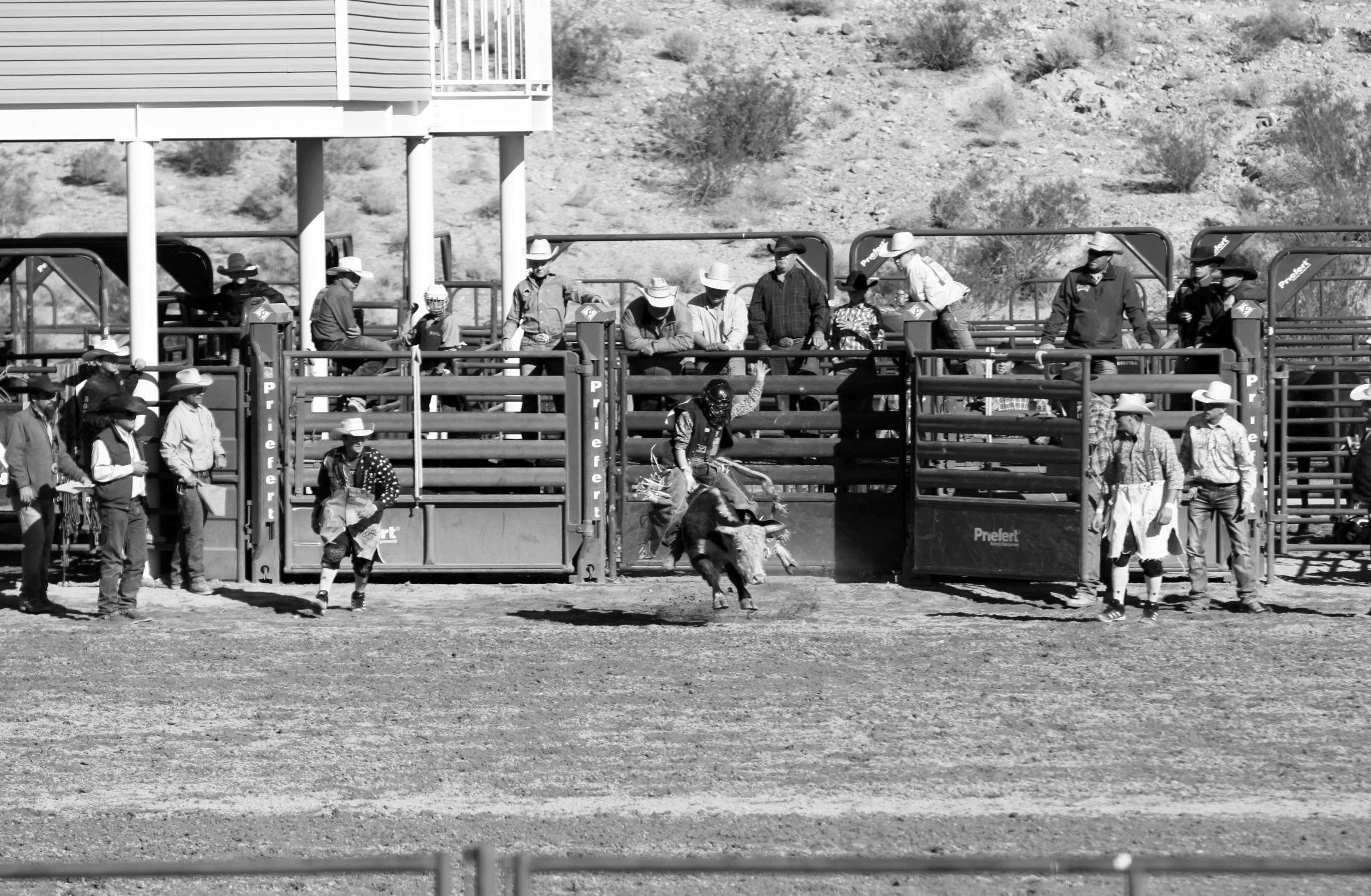 High School Rodeo Held in Alamo