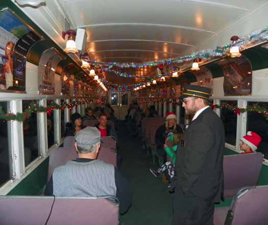 Polar Express Train Rides Underway at Nevada Northern Railway