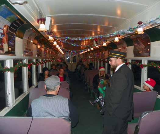 Polar Express Train Rides Underway at Nevada Northern