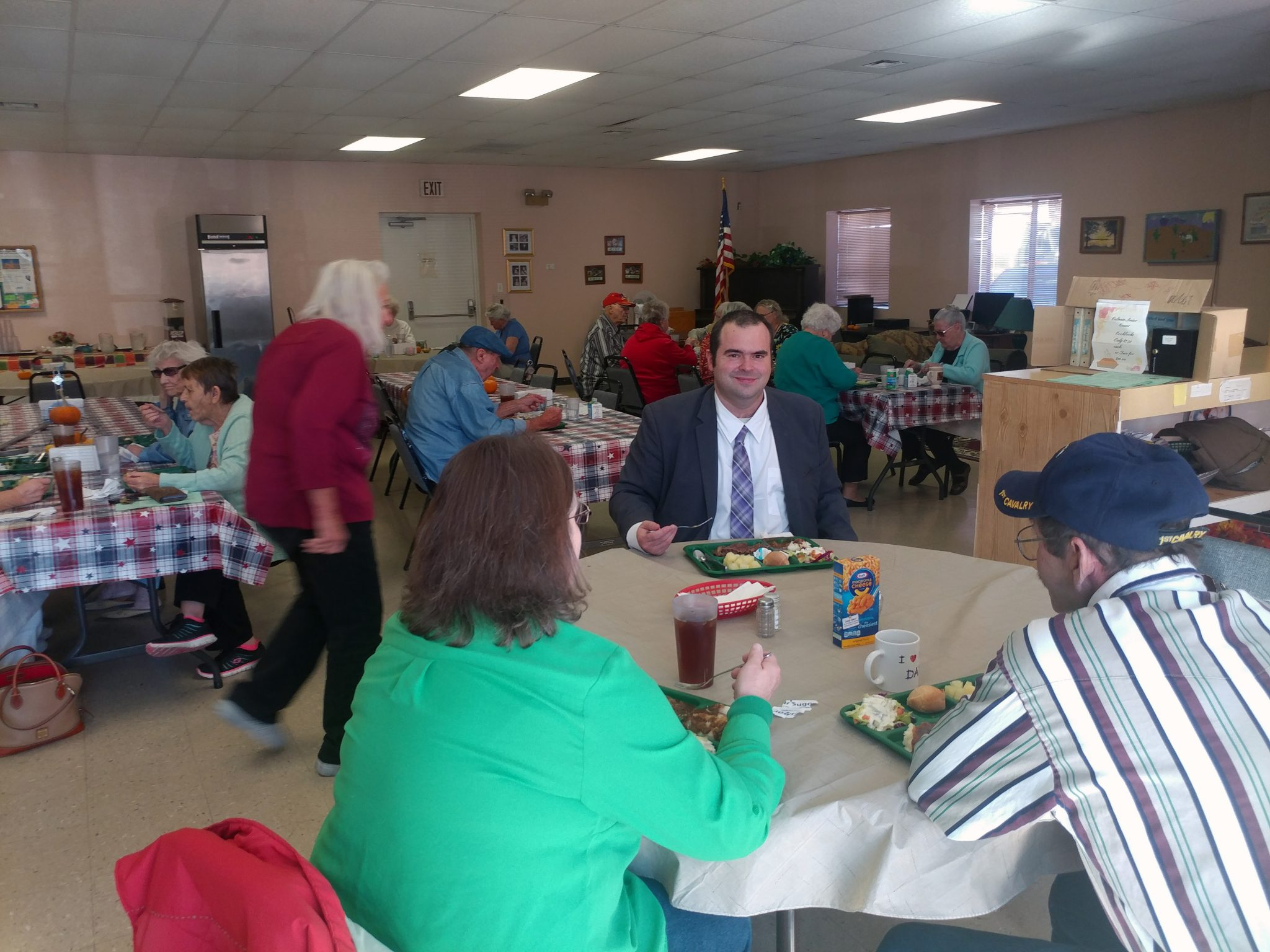 Candidate Makes Stop in County