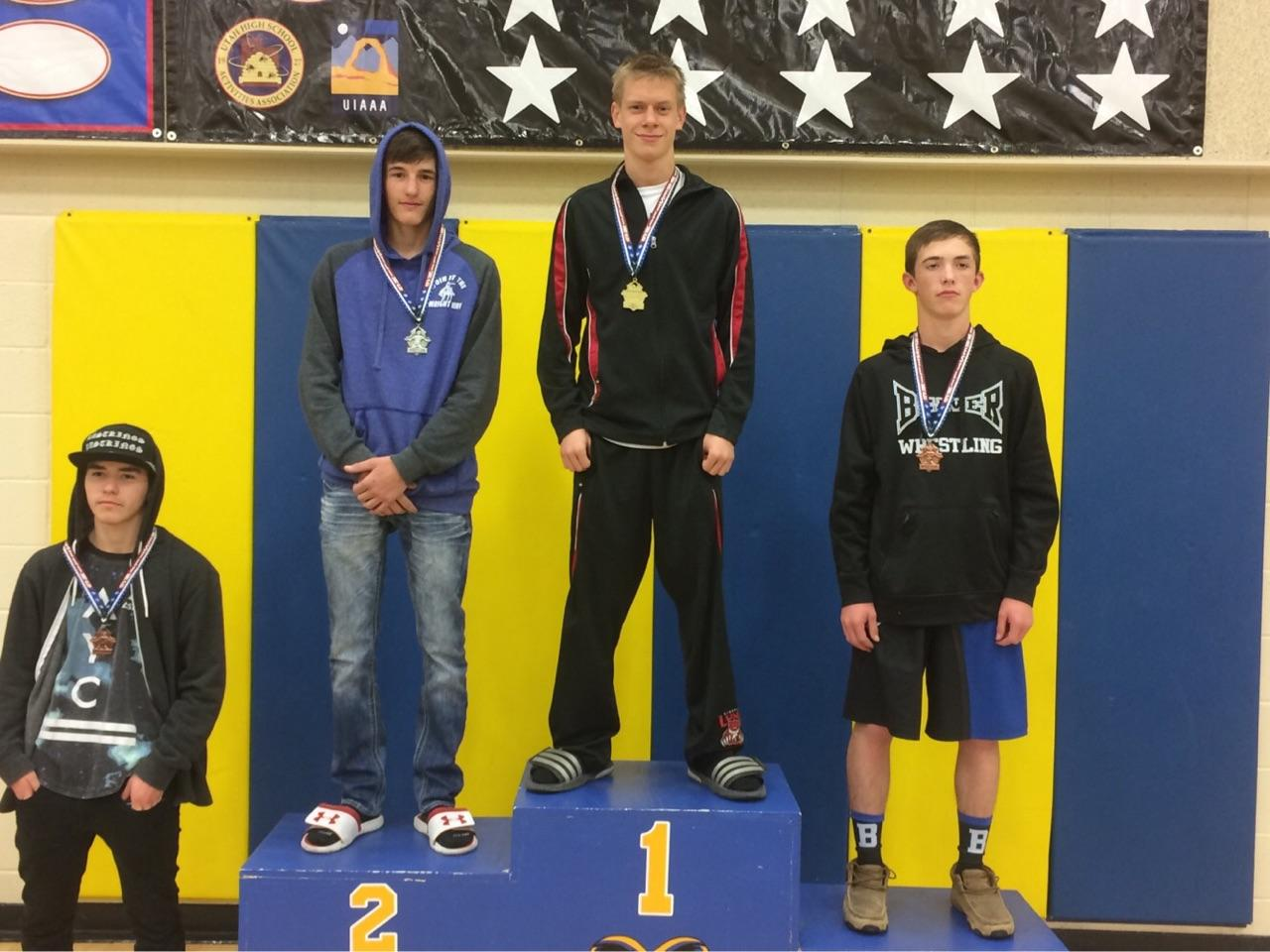 Lincoln Wrestlers Compete at Parowan