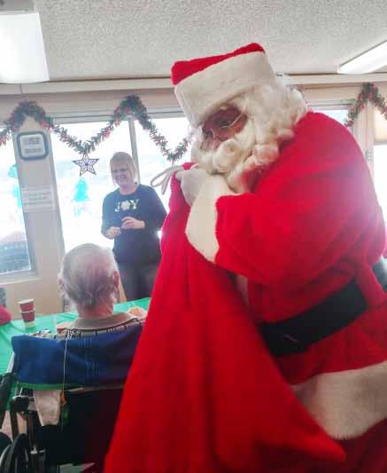 Santa Brings Smiles to Local Hospital